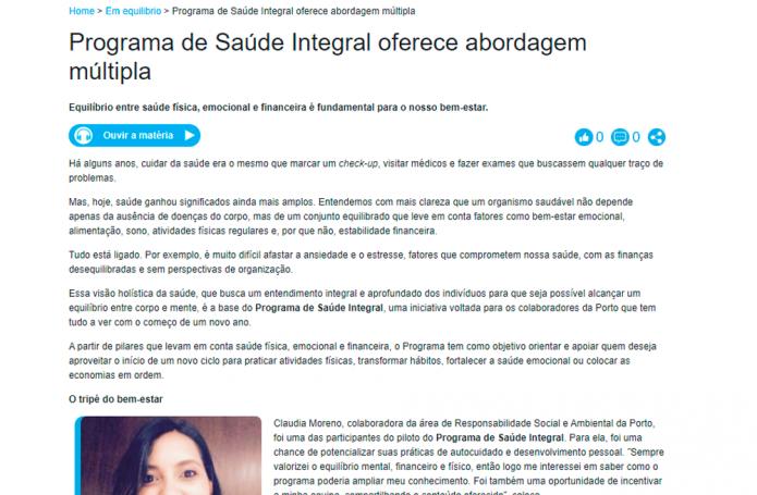 Revista Digital Porto Seguro